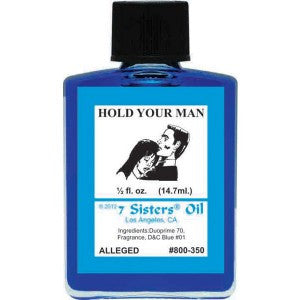 7 Sisters Hold Your Man Oil - 0.5oz