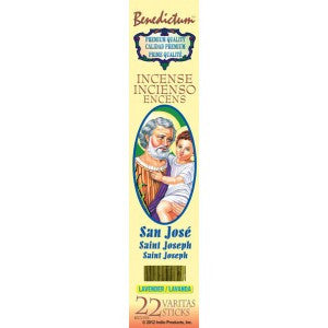 Benedictum St. Joseph Incense Sticks