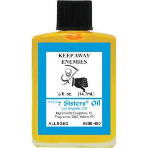 7 Sisters Keep Away Enemies Oil - 0.5oz