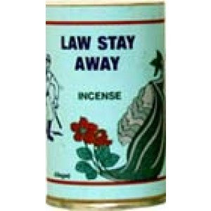 7 Sisters Law Stay Away Incense Powder