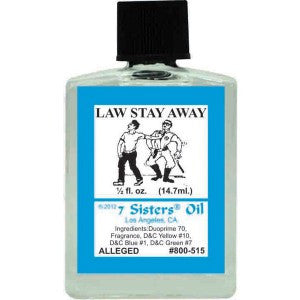 7 Sisters Law Stay Away Oil - 0 5oz