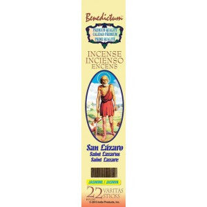 Benedictum St. Lazaro Incense Sticks