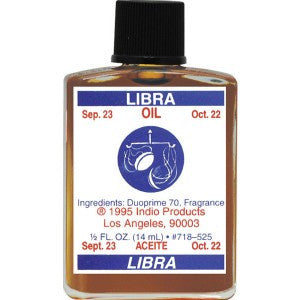 Indio Libra Zodiac Oil - 0.5oz