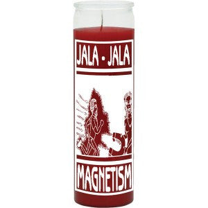Magnetism Red Candle