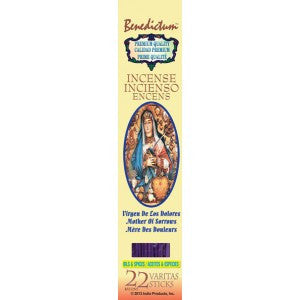 Benedictum Mother Sorrow Incense Sticks