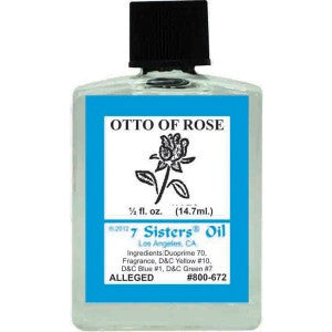 7 Sisters Otto Of Rose Oil - 0.5oz