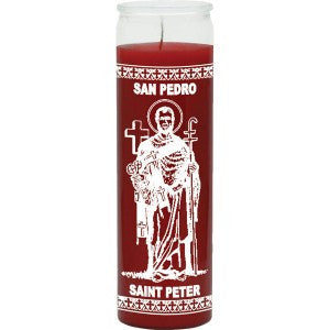 St Peter Red Candle