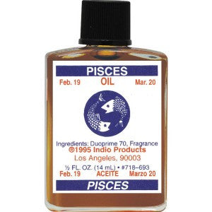 Indio Pisces Zodiac Oil - 0.5oz
