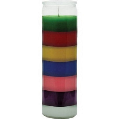 Plain 7 color Candle - 7 Color 7 Day