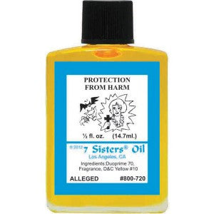 7 Sisters Protection From Harm Oil - 0.5oz