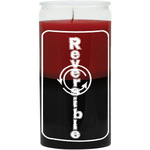 Reversible Red / Black Candle - 2 Color 14 Day