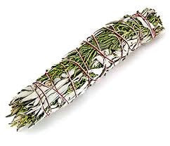 "White Sage & Juniper Smudge Stick 7""- 8"""