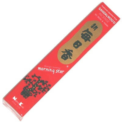 MORNING STAR SANDALWOOD - 50 STICKS