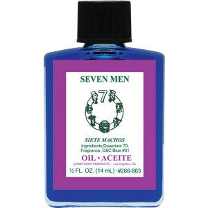 Indio Seven Men Oil - 0.5oz