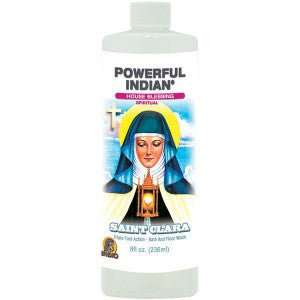 Powerful Indian  St. Clara Bath & Floor Wash