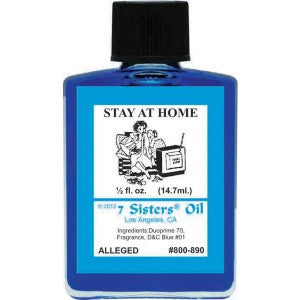 7 Sisters Stay Home Oil - 0.5oz