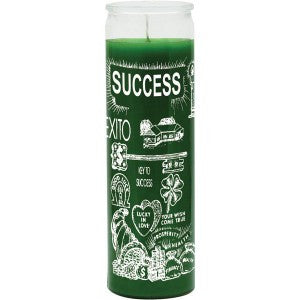 Success Green Candle