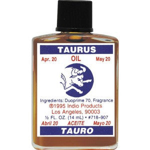 Indio Taurus Zodiac Oil - 0.5oz