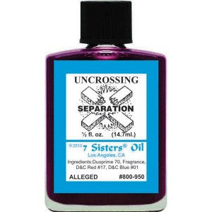 7 Sisters Uncrossing Separation Oil - 0.5oz