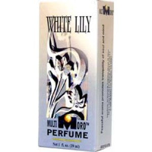 Multioro White Lily Perfume 1oz