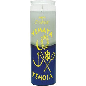Yemaya White / Blue Candle