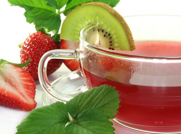 Mint Strawberry Tea