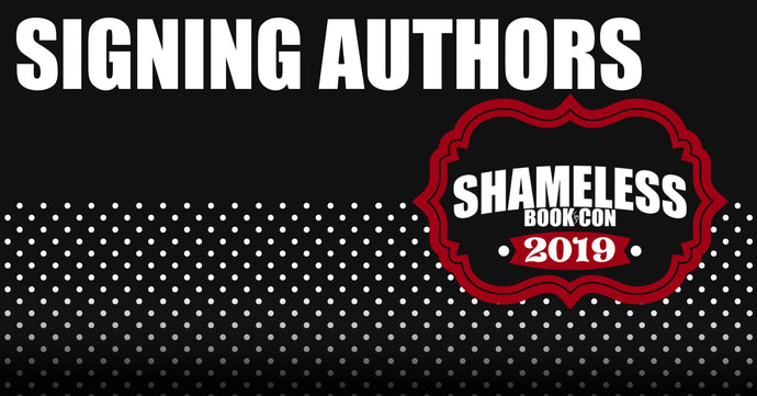 Authors Signing at Shameless Book Con 2019