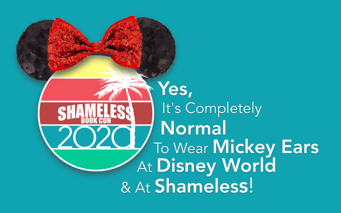 Yes, It's Completely Normal To Wear Mickey Ears At Disney World (& At Shameless!)