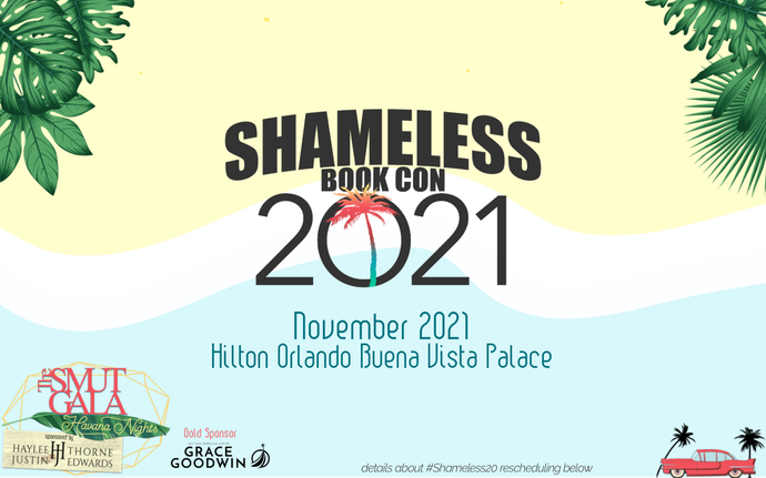 Important Announcement: Rescheduling Shameless Book Con
