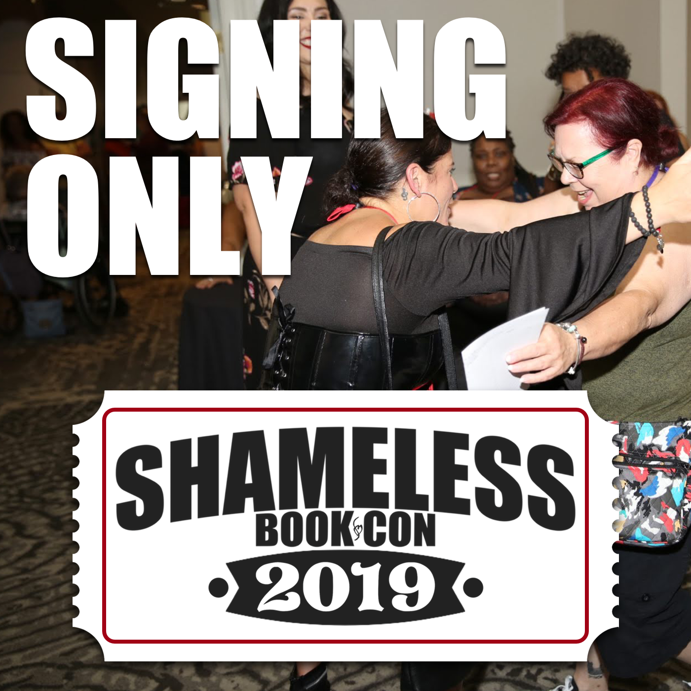 Shameless Book Con Author Signing Event – October 2019 In
