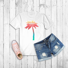 Load image into Gallery viewer, Shameless21 Palm Tree Logo T-Shirt