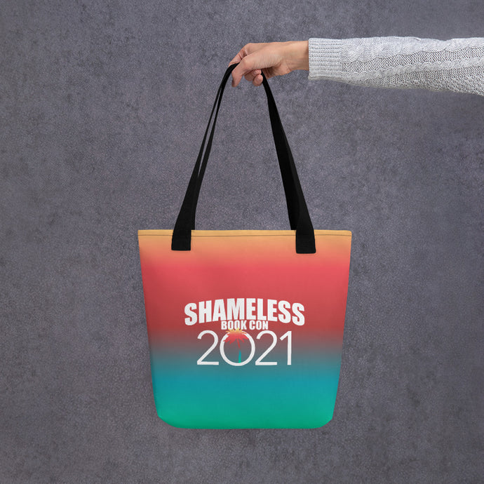 Shameless Book Con 2021 All-Over Print Tote Bag