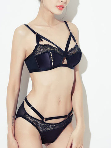 MP Bra Set in black