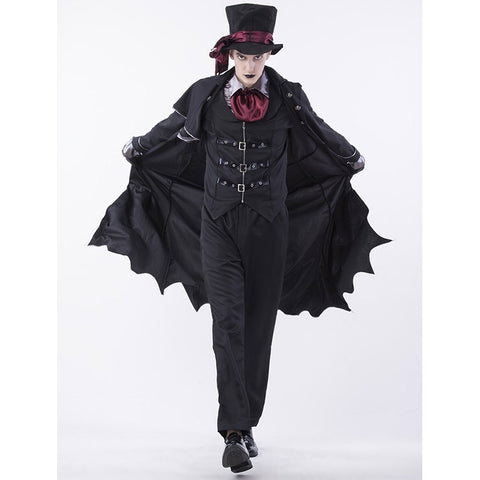 Gothic Adult Halloween Men's Vampire