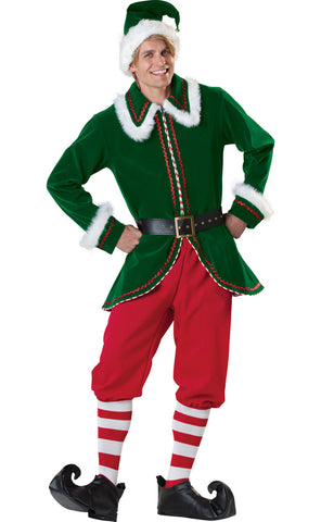 Deluxe Men's Elf costume