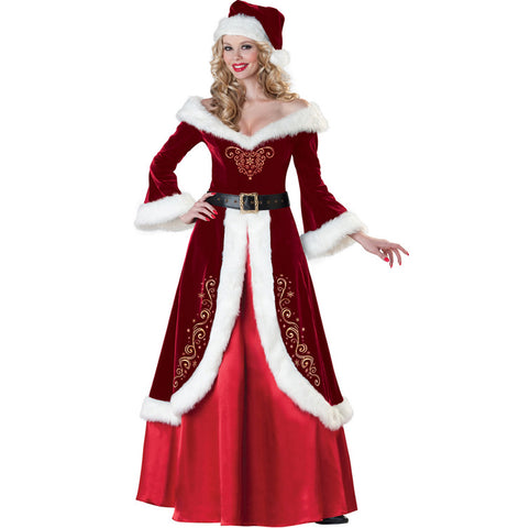 Mrs Jolly Ole St. Nick Santa Costume