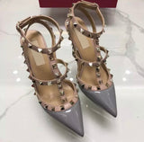 Chic Stud designer inspired pumps