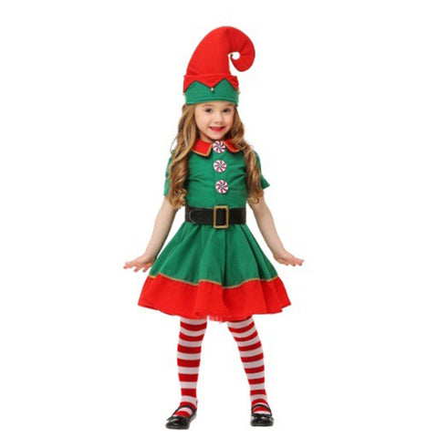 Girls Christmas Elf