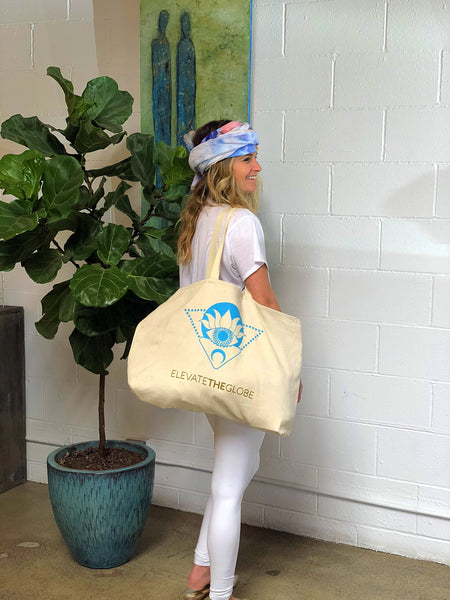 Elevate the Globe Tote - FREE SHIPPING!