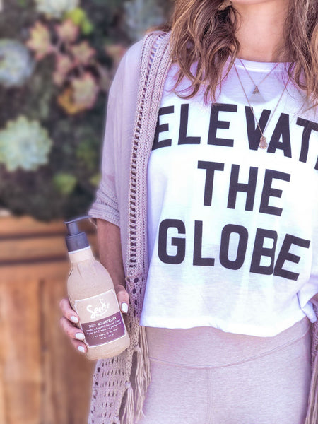 Elevate the Globe Tee - FREE SHIPPING!