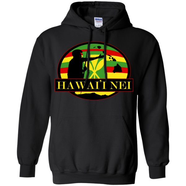 Hawai'i Nei Kanaka Maoli Pullover Hoodie 8 oz, Hoodies, Hawaii Nei All Day, Hawaii Clothing Brands