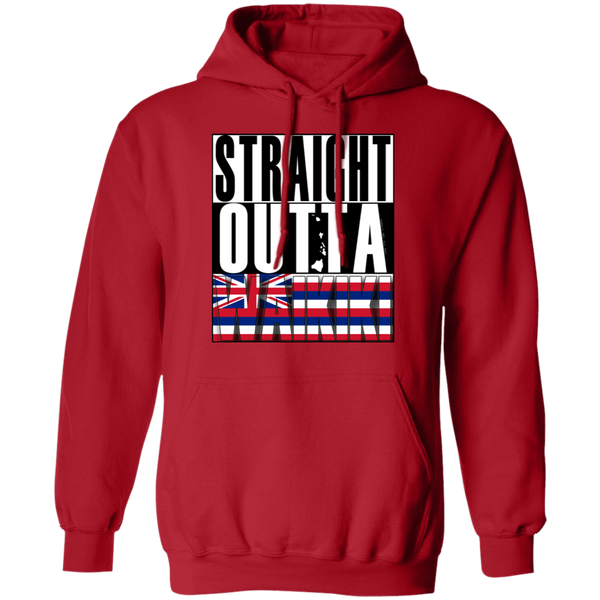 Straight Outta Waikiki Pullover Hoodie, Sweatshirts, Hawaii Nei All Day