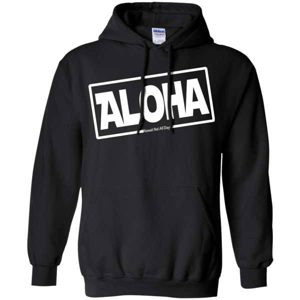 Aloha Hawai'i Pullover Hoodie 8 oz., Sweatshirts, Hawaii Nei All Day, Hawaii Clothing Brands