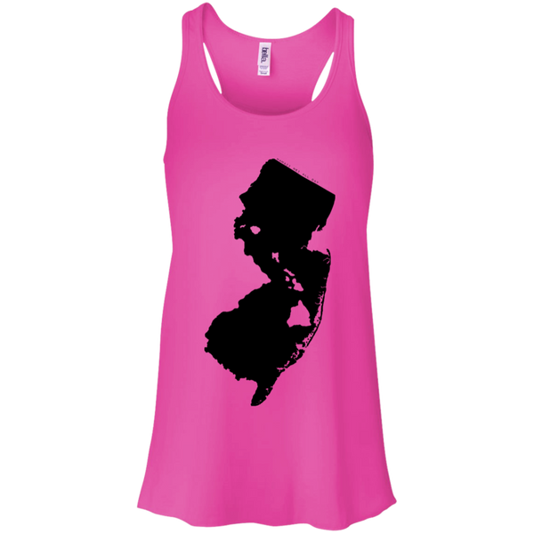 Living in New Jersey with Hawaii Roots Bella + Canvas Flowy Racerback Tank, T-Shirts, Hawaii Nei All Day