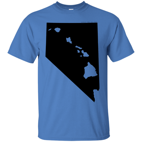 Living in Nevada with Hawaii Roots Ultra Cotton T-Shirt, T-Shirts, Hawaii Nei All Day