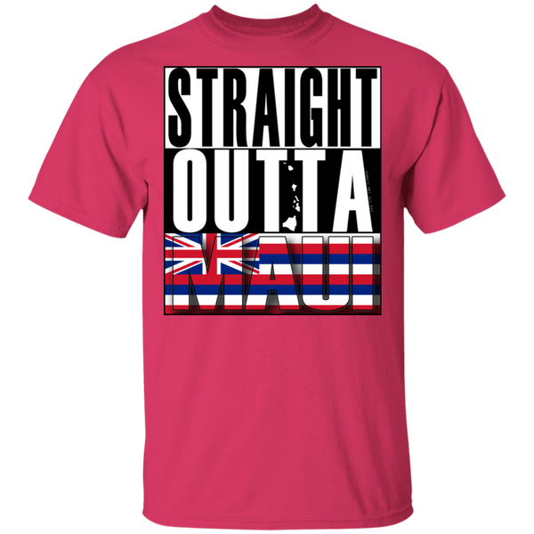 Straight Outta Maui Hawaii T-Shirt