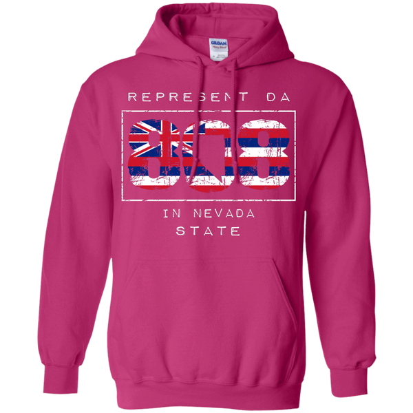 Represent Da 808 In Nevada State Pullover Hoodie, Hoodies, Hawaii Nei All Day