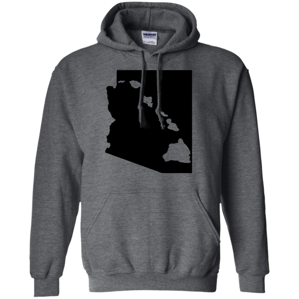 Living in Arizona with Hawaii Roots Pullover Hoodie, Sweatshirts, Hawaii Nei All Day