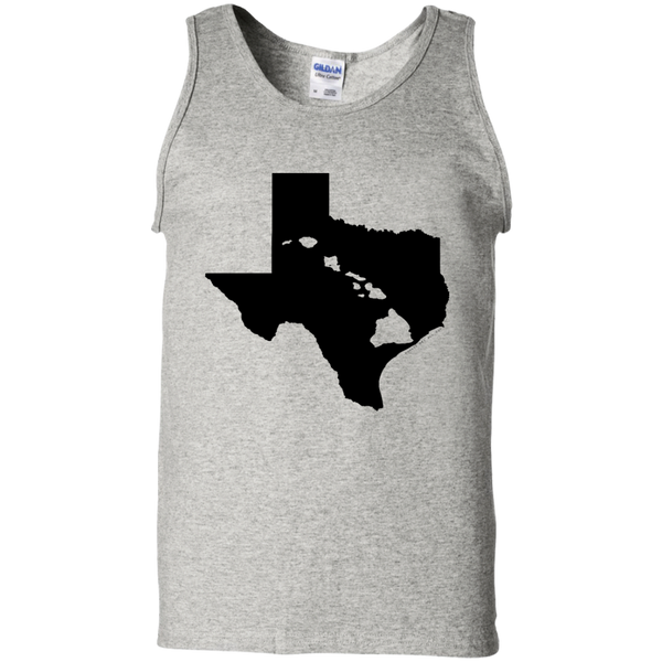 Living In Texas With Hawaii Roots 100% Cotton Tank Top, Sleeveless, Hawaii Nei All Day