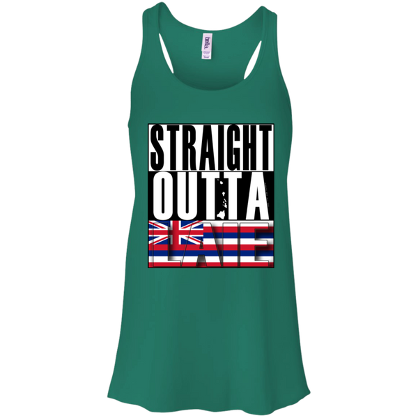 Straight Outta Laie Hawai'i Racerback Tank, T-Shirts, Hawaii Nei All Day